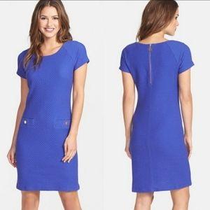 Lilly Pulitzer textured front pocket mini dress XS